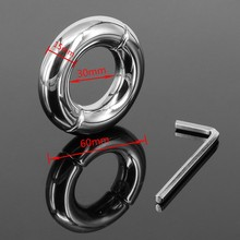 7.10 oz  sex balls ring for men cockring ball stretcher 304 Stainless steel ball weights Man chastity device A921