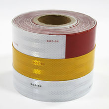 HIGHLY Reflective tape DOT 2 inch x 30 feet Tape for Trailer Vehicle Dump Trucks(China)