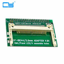 "CF Compact Flash Merory Card to Vertical 2.5"" 44 Pin IDE Hard Disk Drive HDD SSD Adapter(China)"