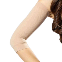 2 PCS Weight Loss Calories off Slim Slimming Arm Shaper Massager Lose Fat Buster Flesh Color(China)