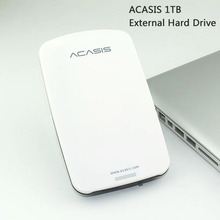 Good price Free shipping 2.5''  ACASIS Original 1TB HDD USB2.0 External Hard Drive  Mobile Portable Disk Plug and Play On Sale