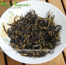 [HT!]Jin jun mei golden eyebrow black tea 120g,premium flavoured wuyi jinjunmei chinese red teas leaves golden eyebrows hong cha