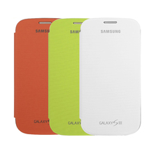 ORIGINAL Flip Cover Case For Samsung Galaxy S3 I9300 SIII  EFC-1G6F Mobile Phone Bags