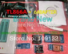 High speed true USB Universal Programmer TL866A Full Pack include 6PCS adapters support 13071 chips V6.5