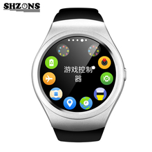 New V365 Full Circle Smartwatch Pedometer Fitness Tracker SIM TF Mobile Watch for iphone 5s 6s 7 Plus for Android Smart Watch