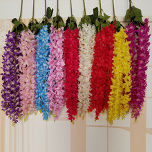 90cm Artificial Wisteria Flower Vine Wedding Decor Silk Flowers Home Christmas Decoration DIY Accessories Craft