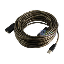5m 10m 15m USB 2.0 Male to Female Active Repeater Amplifier Cable 480Mbps 16ft/33ft/49ft