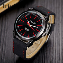 Irisshine Vintage Classic Mens Waterproof Leather Strap Sport Quartz Army Watch men watches Gift #100719
