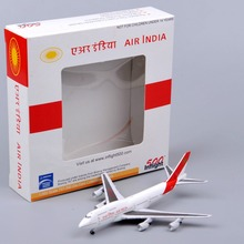 Inflight500 Miniature1/500 Scale Alloy Diecast Airplane AIR INDIA Boeing 747-300 Airplane Aircraft brinquedos Model Kids Toys