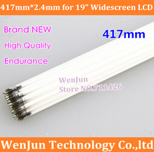 "15PCS/LOT Free Shipping 417mm*2.4mm CCFL tube Cold cathode fluorescent lamps for 19"" widescreen LCD monitor"