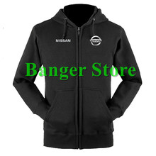 Nissan sweatshirts coat custom Nissan 4S shop hoodie jacket for men and women