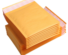 Yu11.30 14*16cm Kraft Mailer Bubble Padded Envelopes Bags Wholasale Kraft Bubble Mail Mailing Express Bag small