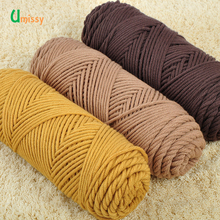 1pc Thick Yarn Cotton Velvet Silk Skincare Hand Knitting Scarf Coat Soft Yarn For Hand Knitting 50g Free Shipping