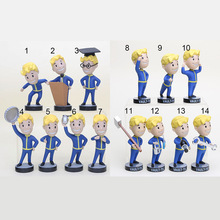 13cm Gaming Heads Vault Boy TOY Bobbleheads Series 1 PVC Action Figure For Kid DOLL