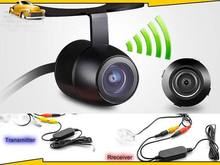 Waterproof 2.4GHz Wireless Rear View Car Backup CCD Camera Reversing Camara For Universal Car Models