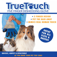 Dog Cat Hair Comb Cleaning Brush Animal Massage Hair Removal Dog Grooming True Touch Shedding Brush Bath Gloves