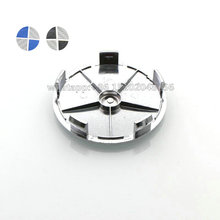 20pcs 68mm Black/White Blue/White Carbon Fiber 5 pin Auto Car Wheel Center Hub caps Rim Caps Logo Emblem Badge