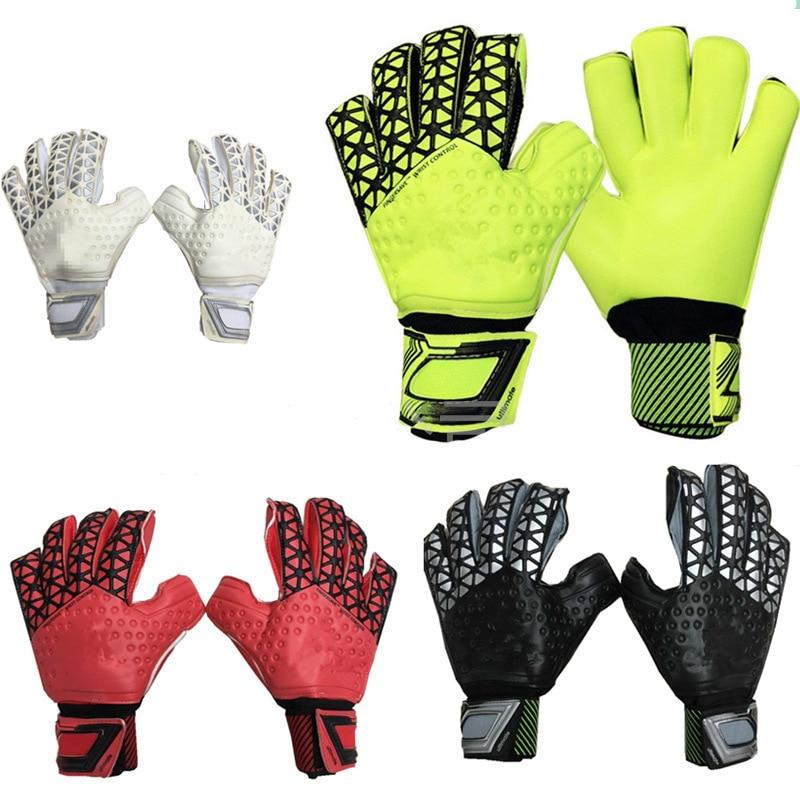 2016 New brands football gloves size 8 9 10 Soccer Goalie gloves finger protection Professional goalkeeper  latex gloves man<br><br>Aliexpress