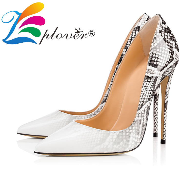 Women Pumps Patent Leather Fashion High Heels Shoes Woman 2018 New Plus Size Ladies Wedding Shoes Thin Heels Zapatos Mujer<br>