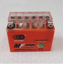 YTX4L-BS 12v 4am Motorbike GEL Battery Quad Dirt Bike Pit Bike 50/70/ 90/110/125cc