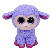 "Pyoopeo Ty Beanie Boos 10"" 25cm Medium Lavender the Lamb Plush Beanie Baby Stuffed Animal Doll Toy Collectible Soft Toys"