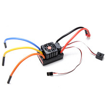 FVT 2-6S LiPo Battery 120A Waterproof Brushless Car ESC For 1/8 1/10 RC Car Model
