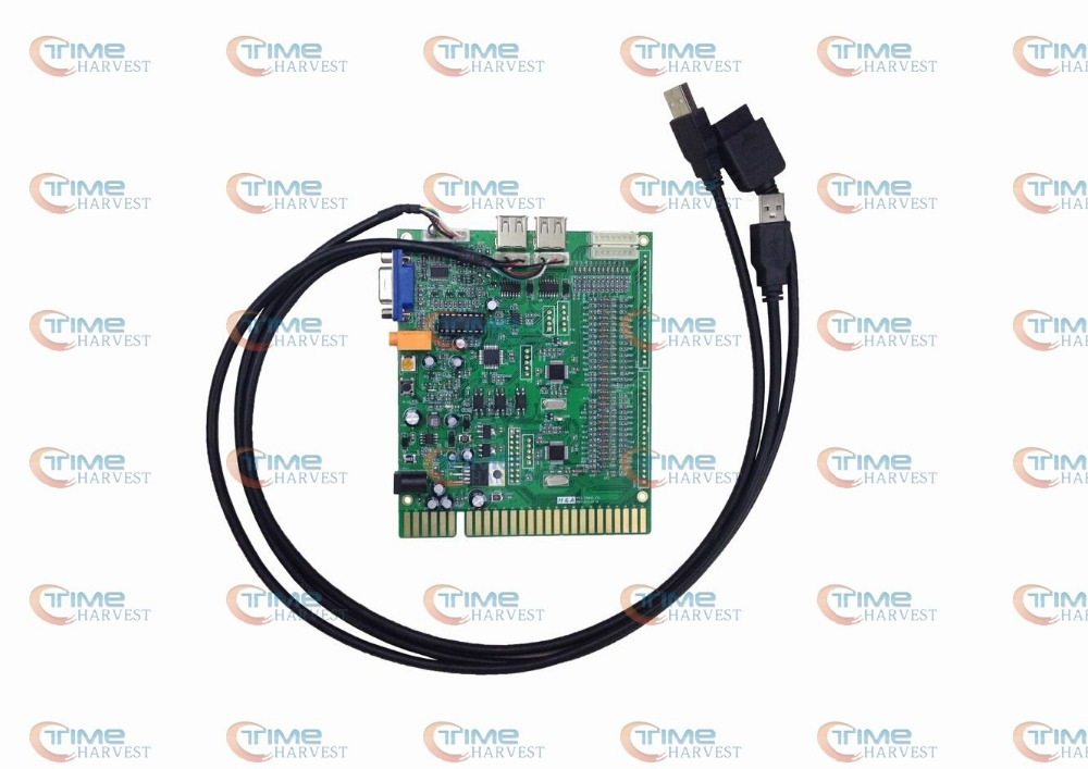 New arcade PS3 timer control board use the JAMMA button &amp; Joystick by timer mode for VGA arcade game machine LCD monitor cabinet<br><br>Aliexpress