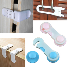 4pcs Baby Child Kids Safety Cabinet Drawer Toilet  Refrigerator Sliding Window Door Stopper Latch Locks Straps Security Products