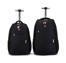 18 20 inch swissgear men carry on cabin hand backpack luggage trolley wenger travel bag