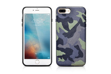 (1PC) XOOMZ brand Stylish Army Camouflage Element Cover Case For Apple iPhone 7 Plus Luxury Electroplating TPU Soft Protective(China)