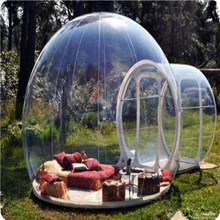 1PC  outdoor camping bubble tent,clear inflatable lawn Dome tent,inflatable snow bubble tent,bubble tent