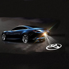 Buy Car Styling Car Tail LOGO Projecting Lamp Car Warning Laser Tail Rear Fog Light Styling Auto Brake Parking Lamp Rearing light for $3.85 in AliExpress store