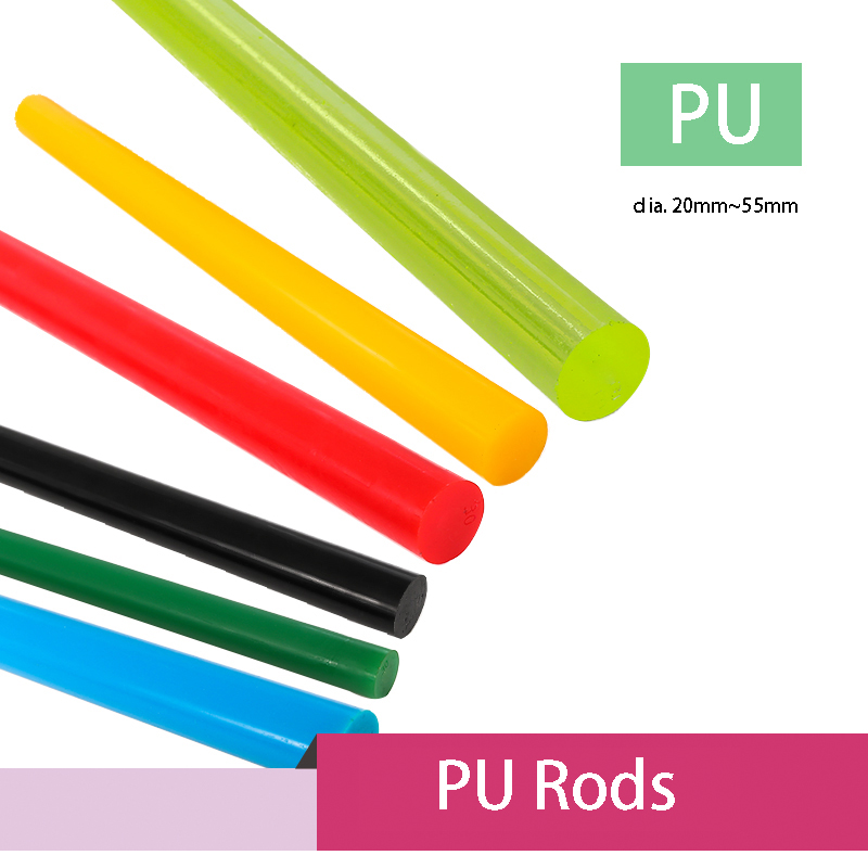 POM Round Rod,12mm Dia 50cm Length Yellow Engineering Plastic Round Bar