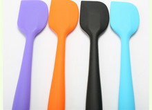 Kitchen Silicone Cream Butter Cake Spatula Mixing Batter Scraper Brush Butter Mixer Cake Brushes Baking Tool Kitchenware(China)