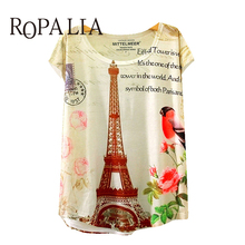2017 T-shirt Fashion Summer Animal Cat Print Shirt O-Neck Short Sleeve T Shirt Women Tops(China)