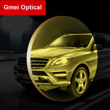 Gmei 1.499 Polarized Myopia Night-Vision Lenses Prescription Polarized Driving Glasses Lenses High Definition High Transmittance(China)
