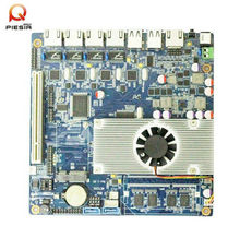 Atom  Dual Core 1.86GHz Mini-itx 4 lan  Motherboard with Intel D2550 Processor