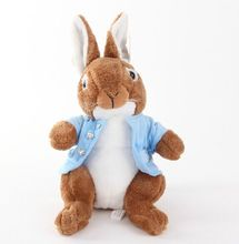 50cm/65cm peter rabbit plush toy doll pillow,  rabbit stuffed animal doll, boy and girl birthday gift