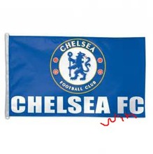 2017 Chelsea Team Logo Large Outdoor Nation Soccer Flag 3X5FT Custom Flag Premier League Champions Banner(China)