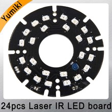 Yumiki Infrared 24pcs Laser IR LED board for MTV Lens Bullet Security IP CCTV Camera Outdoor night vision (Diameter: 60mm)(China)