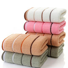 100% Cotton soft absorbent adult household towel Travel Gym Sports Camping Swimming Pool quick drying towel 33x73cm w11-6(China)