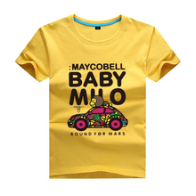 2017 Kids Cartoon Milo monkey boys T Shirt Tops Tee Children Brand Clothes Summer Boys Short Sleeve T-shirt Cotton Girls Casual