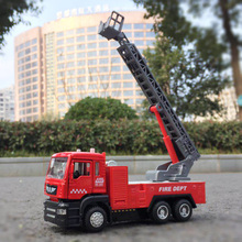 1:32 alloy car model childrens toy construction truck fire truck military truck van truck Children's favorite birthday gift(China)