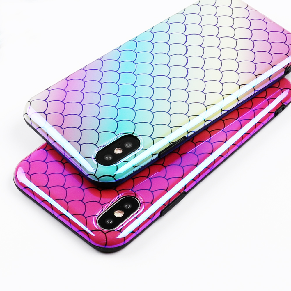 Blu-Ray Laser Shiny Mermaid Phone Cases