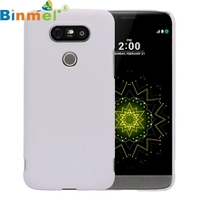 Top Quality For LG G5 Cover Pure Color Simple Design PC Hard Back Case Protective Phone Guard Shell Skin 9 Colors MAY9