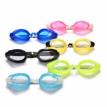 1Set Adult Unisex Swimming Glasses Kit Summer Diving Swimming Glasses Plastic Rubber Goggle Set with Earplugs Nose Clip 6 Colors