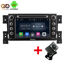 2GB RAM Octa Core Android 6.0 Car PC Multimedia DVD Head Unit Stereo Radio Player Fit For SUZUKI GRAND VITARA 2005-2011 4G