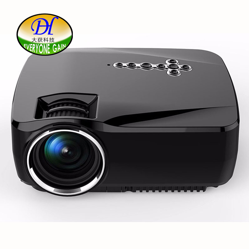 Everyone Gain mini288A Wireless LED LCD Projector Bluetooth 1200Lums 1080P Android4.4 Mini Video Projector Home led projector(China (Mainland))