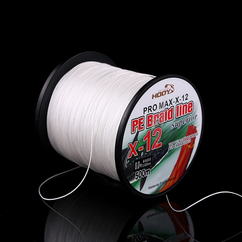 Super Strong Multifilament PE Braided Fishing Line 500m 12 Strands PE Braided Fishing Line 70LB-225LB Fishing Tackle (4)