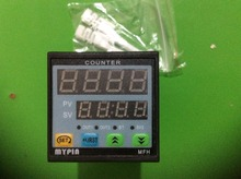 Original Mypin 80-265V AC/DC 4 Preset Digital counter Meter 10KPCS Relay Output FH4-4CRNB 48x48mm Free Shipping